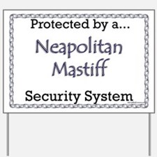 Neo Security Yard Sign
