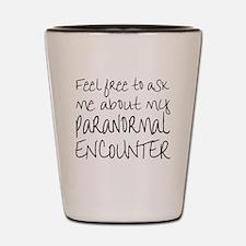 Paranormal Shot Glass