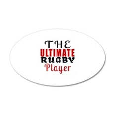 The Ultimate Rugby Player Wall Decal