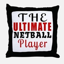 The Ultimate Netball Player Throw Pillow
