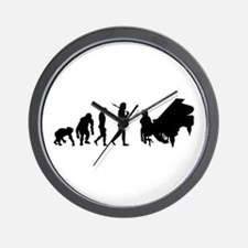 Concert Pianist Wall Clock