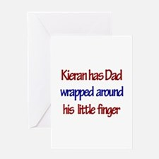 Kieran - Dad Wrapped Around Greeting Card