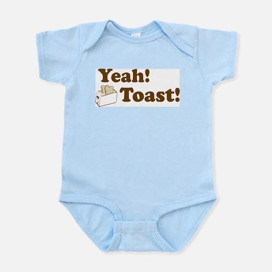 Yeah! Toast! Infant Creeper