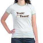 Yeah! Toast! Jr. Ringer T-Shirt