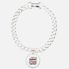 Saluki Thing Dog Designs Bracelet