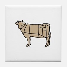 Beef Cow Tile Coaster