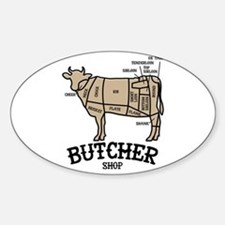 Butcher Beef Decal