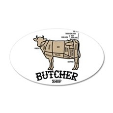 Butcher Beef Wall Decal