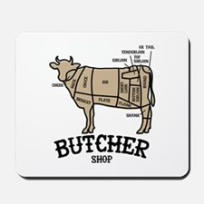 Butcher Beef Mousepad