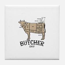 Butcher Beef Tile Coaster