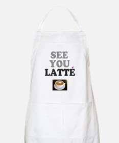 COFFEE - SEE YOU LATTE Apron