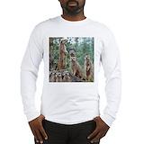 Meerkats Long Sleeve T-shirts
