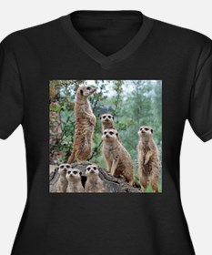Meerkat010 Plus Size T-Shirt