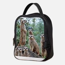 Meerkat010 Neoprene Lunch Bag