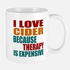 Drink Cider Is My Therapy Mug
