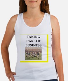 Cute Funny rugby Women's Tank Top