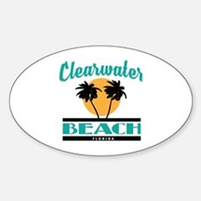 Unique Florida clearwater Sticker (Oval)