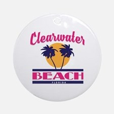 Clearwater Round Ornament