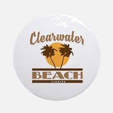 Funny Clearwater Round Ornament