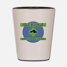 Cute Isle royale Shot Glass