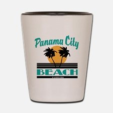 Funny beach Shot Glass