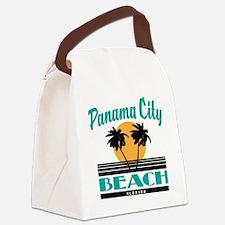 Unique City Canvas Lunch Bag