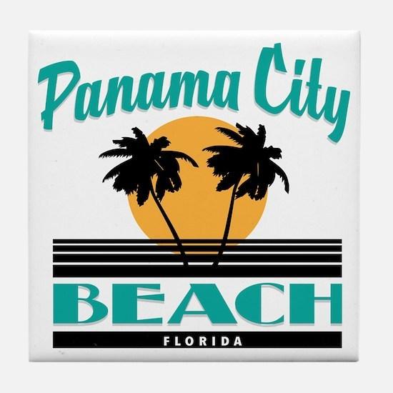 Unique Panama city beach Tile Coaster