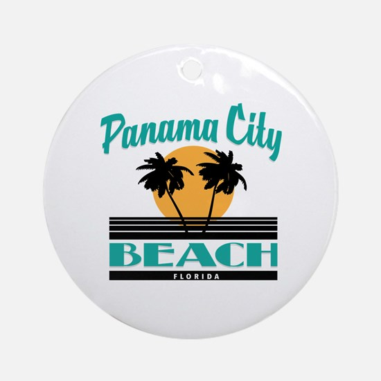 Cute Florida souvenir Round Ornament