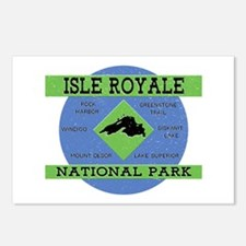 Isle Royale Lake Superior Postcards (Package of 8)