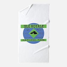 Isle Royale Lake Superior National Par Beach Towel