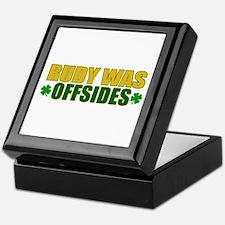 Rudy Offsides (2) Keepsake Box
