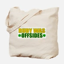 Rudy Offsides (2) Tote Bag