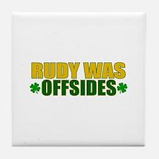 Rudy Offsides (2) Tile Coaster