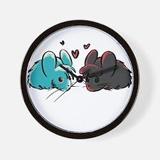 Cuddly Mice Wall Clock