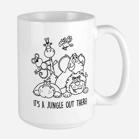 It's a jungle out there Mugs