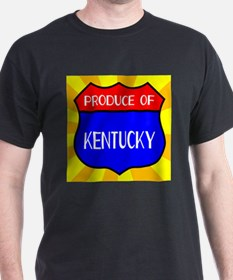 Produce Of Kentucky Shield T-Shirt