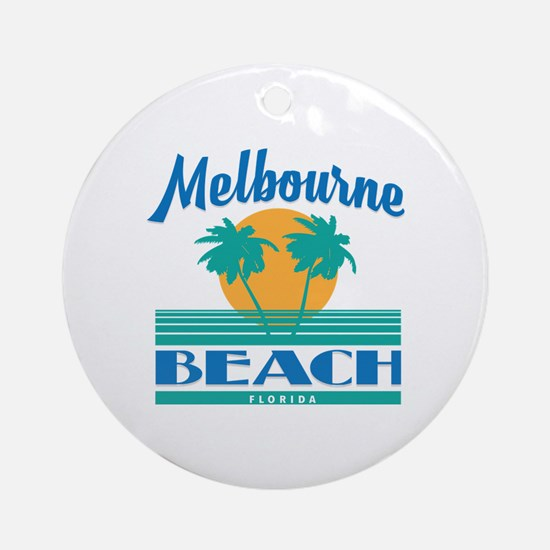 Funny Florida souvenir Round Ornament