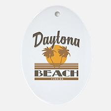 Cool Daytona beach Oval Ornament