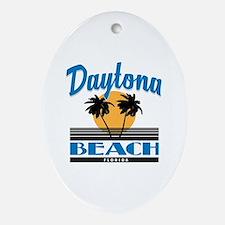 Cute Daytona beach Oval Ornament