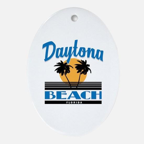 Unique Daytona Oval Ornament