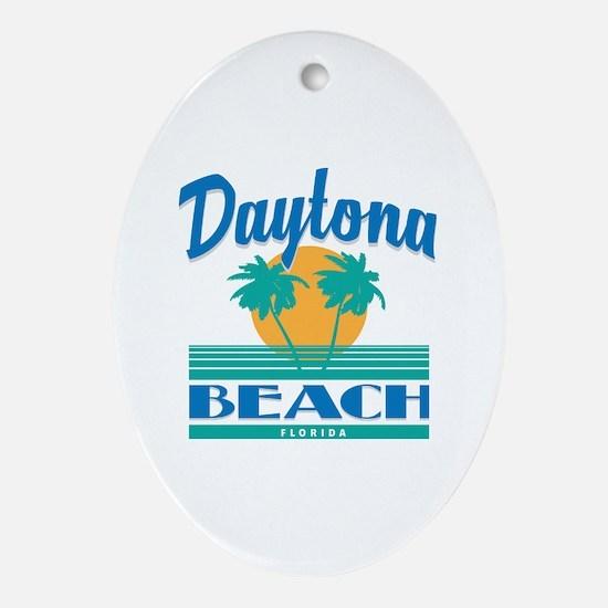 Funny Daytona Oval Ornament