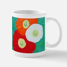 Three Poppies Mugs