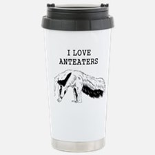 I Love Anteaters Travel Mug