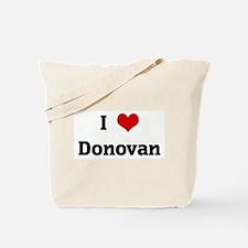 I Love Donovan Tote Bag