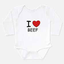 I love beef Body Suit