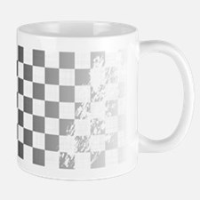 Chequered Flag Grunge Mugs