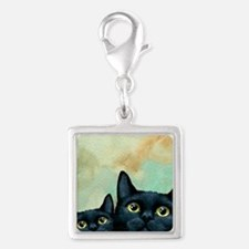 Cat 607 black Cats Charms
