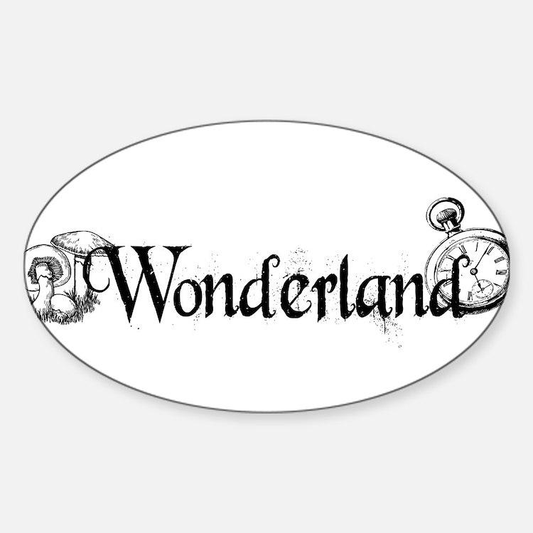 Wonderland Decal
