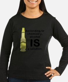 Alcohol Solution Long Sleeve T-Shirt