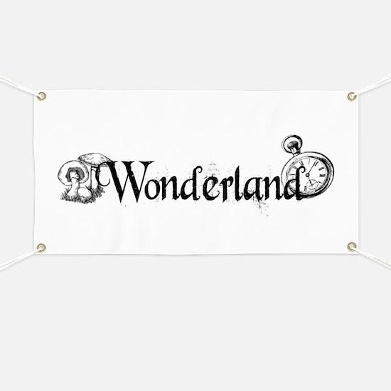 Wonderland Banner
